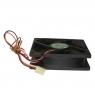 Вентилятор для корпуса 92х92х25мм, 3пин, 0.3A, подшипник качения, C9025S12M, AVC, Тайвань