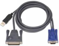Кабель 2L-5602UP USB для KVM переключателя 1.8 метра, Aten