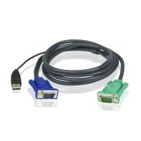 Кабель 2L-5202U USB для KVM переключателя 1.8 метра, Aten