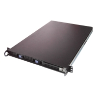 Серверный корпус 1U FL-143 2xHot Swap SCA-2 (EATX 12x13, Slim FDD+CD, 610mm) черн