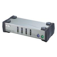 Переключатель KVM ATEN CS-84AC 4 порта, кабели в комплекте 1.2 метра (CS84AC)
