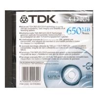 Диск CD-RW TDK 650MB 4X