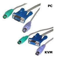 Кабель 2L-1010P/C PS/2 для KVM переключателя 10 метров, Aten