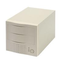 """Внешний корпус 5.25"""" (FIREWIRE) для 2 устройств MAP-502FL-02M W/80W PSU (для IDE HDD/CD/DVD)"""
