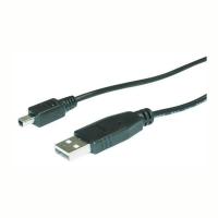 Кабель USB 4F(A) --- MINI USB 4P 1.8M (MITSUMI)