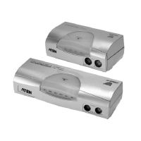Переключатель KVM ATEN CS-1722 USB 2.0 KVM Switch 2 порта кабели в комплекте