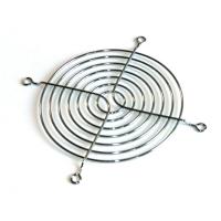 Решетка хромированная 92x92мм решетка-гриль, FAN-GUARD-9cm, для защиты лопастей вентилятора