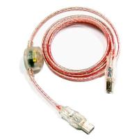 Кабель USB 2.0  4F(A) --- (B) 1.8M (светящийся) RED UF-1.8R