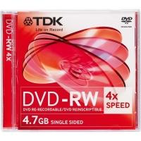 Диск DVD-RW TDK 4.7GB