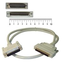 Кабель SCSI внешний HD 68 --- DB 25 D92511 1.0M