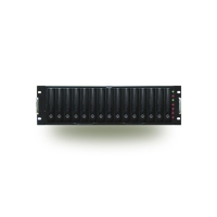 Корпус STORAGE 2U SSI-4160C 2x500W EXTERNAL RAID CASE JBOD 15 SCA (U320) (1-3 CHANNEL) черный