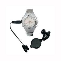 Часы с MP3 WATCH-1686-D 128MB белый циферблат/металл RTL