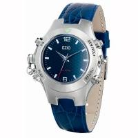 Часы с MP3 WATCH-1686-2B 128MB синий циферблат/кожа RTL