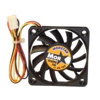 Вентилятор для корпуса 60х60х10мм, 3пин, керамический подшипник, CERAMIC FAN, MS-6010