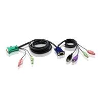 Кабель 2L-5302UU USB для KVM переключателя 1.8 метра, Aten