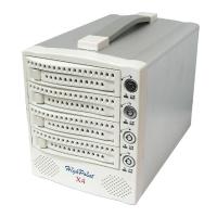 """Внешний корпус 3.5"""" (SATA) на 4 диска HighPoint X4 4-bay (для SATA HDD)"""