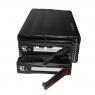 "Внешний корпус 3.5"" (FIREWIRE 400/800) на 2 жестких диска ST-2320 I/FR RAID0,1 (для IDE HDD)"