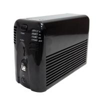 """Внешний корпус 3.5"""" (USB2.0 + ESATA) на 2 диска SI-2269SUSJB RAID0/1 (для SATA HDD) черный"""