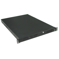 Серверный корпус 1U AKIWA GHI-113 400Вт (ATX 9x12, Slim FDD+CD, 1x3.5int, 406mm) черный