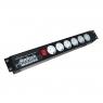 """Блок розеток в стойку 19"""" MAX190SPG-10/15 подключение к UPS (сетевой фильтр в серверную стойку)"""