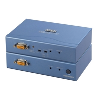 Удлинитель KVM CE-300 PS/2 CAT5 (Audio + Mic) (100м) (мод. CE300), Aten