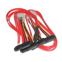 Кабель Mini SAS Cable, SFF-8087 - 4x SFF-8482, длина 0.5 метра, SAS-025, Negorack