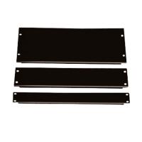 Фальш-панель, заглушка 1U в серверную стойку/шкаф, черная, BLPanel1U
