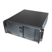 Корпус DVR видеорегистратора 4U MS-4847 2x400W (ATX 9x12, 2x5.25ext, 8x3.5int, 528mm, 32 BNC) черный