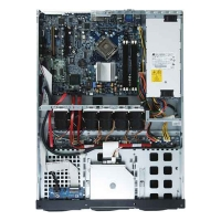 ПЛАТФОРМА 1U GIGABYTE GS-R1161-RH INTEL 775, SVGA/2 LAN/4 HOT SWAP SATA RAID 0,1,5