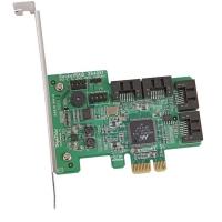 Контроллер HighPoint RocketRAID 2640x1(RTL) PCI-Ex1, 4port-int SAS/SATA 3Gb/s,RAID 0/1/5/10/JBOD