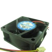 Вентилятор для корпуса 60х60х25мм, 3пин, подшпиник качения, 60x60x25мм