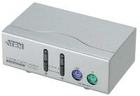 Переключатель KVM ATEN CS-82AC KVM Switch 2 порта, кабели в комплекте 1.2 метра (CS82AC)