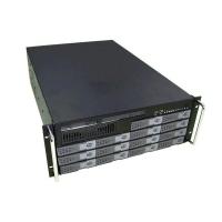 Серверный корпус 4U GHI-481 14хHot-Swap SATA/SAS (EATX 12x13,1xSlim FDD,1xSlim CD, 650мм) черный