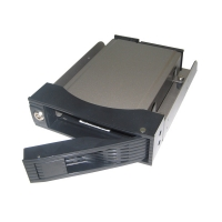 "Корзина NR-HD1168 1x5,25"" с функцией ""горячей замены"" для 1х3.5"" SAS/SATA HDD, металл, черная"