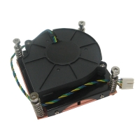 Вентилятор с радиатором для процессора Socket 775 1U server active cooler, NR-FAN1U775, Negorack