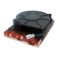 Вентилятор (Socket AM2/AM3) 1U server active cooler, NR-FAN1UAM3, Negorack