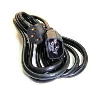 Кабель сетевой 220V, Монитор-Компьютер, (C14)-(C13), IEC 60320, 3Gx0.75mm2, 3м, CBL-014, Negorack