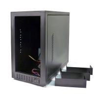 """Корпус дубликатора CD/DVD на 7 мест (7x5.25"""" внеш, 1х3.5"""" внутр), БП 450Вт, модель A-07, черный"""