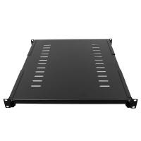 """Полка 19"""" RP-1000D, глубина 650мм, для стойки/шкафа глубиной 800-1000мм, черная, RackPro"""