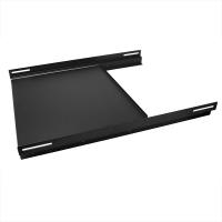 """Полка 19"""" RP-KBD, выдвижная для клавиатуры, для установки в стойку/шкаф 600-1000мм, черная, RackPro"""