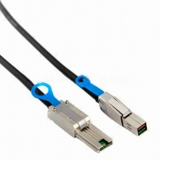 Кабель Mini SAS HD Cable, SFF-8644 to SFF-8088, длина 1 метр, SAS-017, Negorack