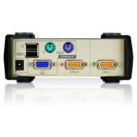 Переключатель KVM ATEN CS-84U KVM Switch 4 порта, (мод. CS84U)