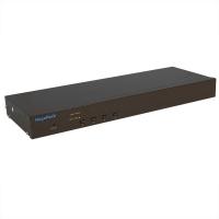 """Переключатель KVM NR-MK104C, 19"""" rackmount, 1U, PS/2&USB, 4 порта, слот для IP модуля, Negorack"""