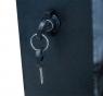 """Серверный шкаф 19""""  6U AW6306E (600x350x368мм), настенный, 1 секция, металл. дверь, черный, RackPro"""