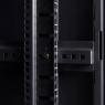 """Серверный шкаф 19"""" 42U RackPro EC6142B (600х1000х2055мм), передняя стеклянная дверь, черный"""