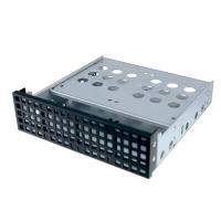 """Переходник (салазки) 1х3.5"""" или 4х2.5 в 5.25"""" для HDD, черный, передняя панель, NR-35, Negorack"""