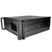 Серверный корпус 4U NegoRack NR-N407IPC14 500Вт (Отсеки 2x5.25ext, 1x3.5ext, 8x3.5int, 450мм) черный