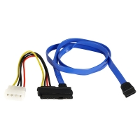 Кабель SAS 29pin SFF-8482 (Signal + power) - SATA+molex, 0.7м, SAS-029, Negorack