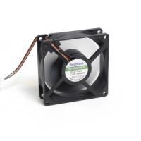 Вентилятор для корпуса 80х80х25мм, 4пин PWM, 12V, 3300RPM, подшипник качения, NR-FAN8025DS, Negorack