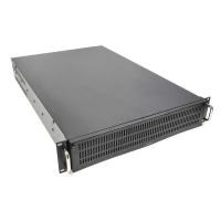 Серверный корпус 2U GHI-221 (EATX 12x13, 4x5.25ext, 1x3.5ext, 2x3.5int, 650mm) черный AKIWA